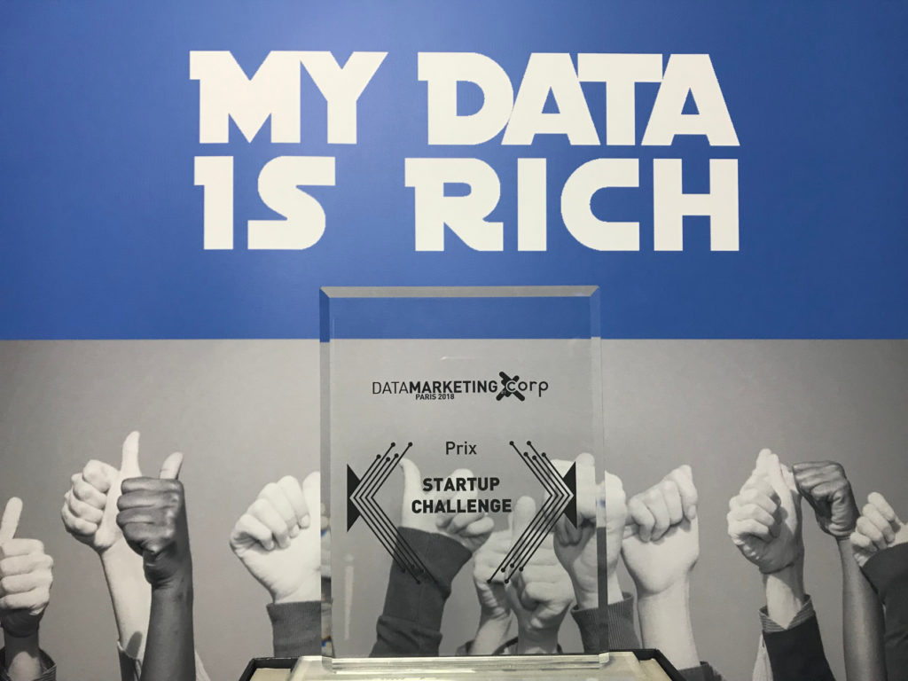 My Data Is Rich, vainqueur du start up challenge data marketing 2018